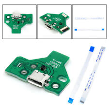 PS4 Controller USB Charging Ports Socket Circuit Board JDS-011 12 Pin Parts New