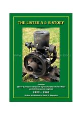 The Lister A & B Story Book The History & Development Of The Lister A & B Engine