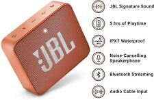 JBL GO2 Portable Bluetooth Speaker Orange