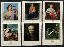 Germania est DDR 1976 SG #E 1908-13 dipinti MNH Set #A 82169