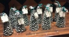 Christmas Tree Candles Frosted Pine & Eucalyptus Fragranced ... New