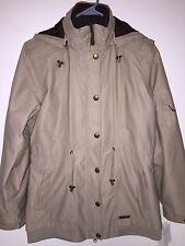 Women's MERRELL Opti-Shell Long Jacket Ski Coat. Fleece Inner Stylish. Medium