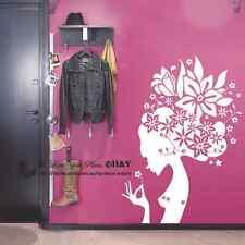 Fairy Wall Art Stickers Removable Kids Vinyl Decal Nursery Mural Home Decor DIY