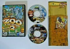 Zoo Tycoon 2 + Endangered Species Expansion Pack (PC, 2004, 2-Disc)