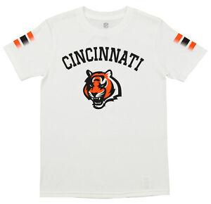 Outerstuff NFL Youth Cincinnati Bengals Short Sleeve First Line Tee
