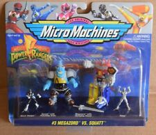 Micro Machines Power Rangers #3 MEGAZORD VS SQUATT Galoob