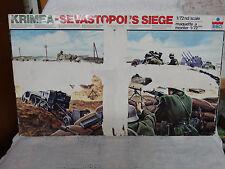 ESCI Krimea-Sevastopol's Siege Diorama Model Kit 1/72