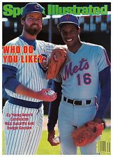 September 24, 1984 Rick Sutcliffe Cubs & Dwight Gooden Mets Sports Illustrated