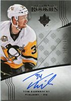 16/17 UPPER DECK ULTIMATE ROOKIE RC AUTOGRAPH AUTO TOM KUHNHACKL 068/299 *45357