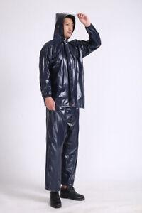 Composite Rainproof Thick Raincoat Wearable Adult Riding Fashion Raincoat Suit