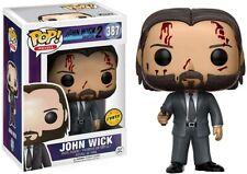 FUNKO POP! MOVIES: JOHN WICK 2 - JOHN WICK 387 CHASE W/ POP PROTECTOR VINYL