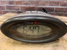 ZENITH Hotel Quality Auto Set Digital Tuning Alarm Clock Radio Black Z1233B