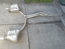 2011 AUDI A5 S5 COUPE 3.0 TDI QUATTRO EXHAUST SYSTEM (A5.1)