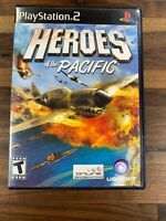 Heroes of the Pacific - Playstation 2 PS2 Game - Complete Guaranteed to Work