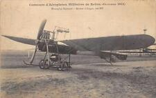 CPA 51 CONCOURS D'AEROPLANES MILITAIRES DE REIMS 1911 MONOPLAN HANRIOT