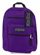 JanSport Big Student Backpack Signature Purple Js00tdn731d