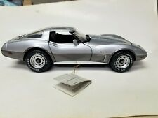 New ListingFranklin Mint 1978 Corvette Silver Anniversary 1/24 Mint Condition No Box