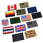 Upick Nation Flag Emblem Iron On Patch Sew Transfer Trim 2