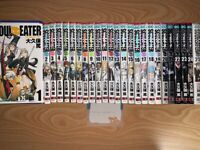 Soul Eater Japanese language Vol.1-25 Set  Manga GanGan comics