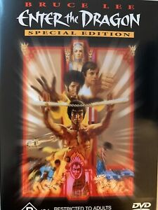 ENTER THE DRAGON Special Edition DVD Bruce Lee 1973 Excellent Condition!