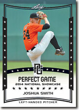 (12) JOSHUA SMITH 2014 Leaf *PERFECT GAME*  Baseball Rookie RC LOT
