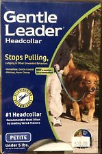 New listing Premier Gentle Leader Head Collar Petite Red For Dogs Under 5 With Training Dvd