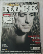 Classic Rock Magazine January 2001 Robert Plant Cover