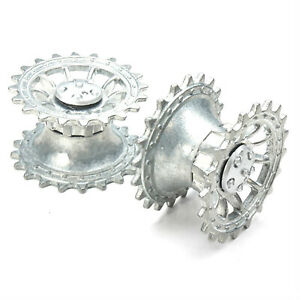 Metal Driving Wheels for 1/16 Henglong 3818 3819 3818-1 3819-1Tank Accessories