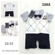 Zara - Baby Boy Tuxedo or Formal Attire with Ribbon - Best for Pictorial or Gift