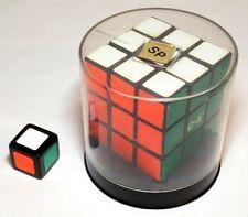 Vintage ORIGINAL 1980's 3x3 Rubik's Cube PLUS 1x1x1 rubix cube! Original case!