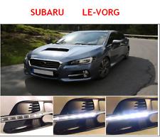 Hotselling 14-16 Subaru Levorg Front Bumper LED Daytime Running Light DRL  Kit