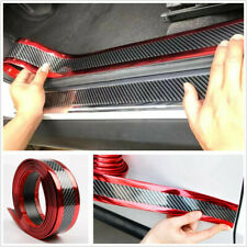 2.5M*3cm Car Door Sill Scuff Welcome Pedal Protect Side Body Skirt Decoration