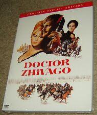 Doctor Zhivago (DVD, 2001, 2-Disc Set), NEW & SEALED, REGION 1, WIDESCREEN,GREAT