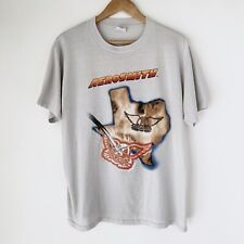 1987 Aerosmith Texas Blowout Vintage Tour Band Rock Shirt 80s 1980s Van Halen