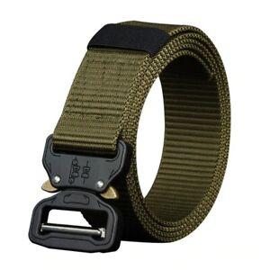 Long Belt Nylon Big Size Heavy Duty Material Men Outdoor Military Tactical Waist