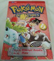 COMIC - Pokemon Adventures Volume Two By Hidenori Kusaka / Mato Paperback Viz