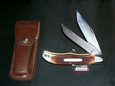Schrade 25OT Knife & Sheath Old Timer 1970's SFO Expressly Made For Hoffritz