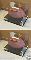 ULTRA CLEAR, UV Protect Football Display Case Stands Holder, 2 PACK, ACFB18M-Q2