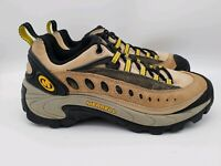 Merrell Pulse Birch Women's sz 8 Brown Leather Lace Up Trail Hiking Shoes