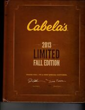 Cabela'S 2013 Limited Fall Edition Catalog Book Volume Xxii Complete Brand New