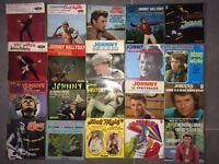 Lot De 20 Vinyles 45 Tours Johnny Hallyday Rare Années 60/70