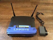 Linksys WRT54G v8 – 54 Mbps 4-Port Switch 10/100 Wireless G Router – 2.4 GHz
