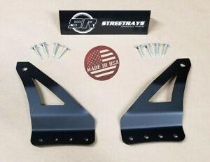 "[SR] 95-04 GMC Jimmy & Chevy Blazer Curved 42"" LED Light Bar Mounting Bracket"