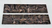 "KIRINITE DESERT CAMO 1/8"" Scales for Knife Making Woodworking Bushcraft Handle"