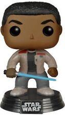 FUNKO Star Wars eoisode 7 Finn con lightsabre POP dañada caja externa