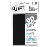 Eclipse Deck Box Sleeves BLACK 60ct. Small Fits Vanguard & Yugioh ultra pro