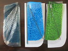 Wow Wee FlyTech Dragonfly Double Pack Replacement Wings Lot Blue Green Clear