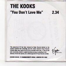 (EN829) The Kooks, You Don't Love Me - DJ CD