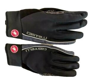 Castelli  Spettacolo Rosso Corsa Gore Windstopper Winter Cycling Gloves - Large