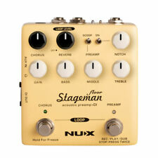 NUX Stageman Floor Analogue Acoustic Preamp Di Pedal
